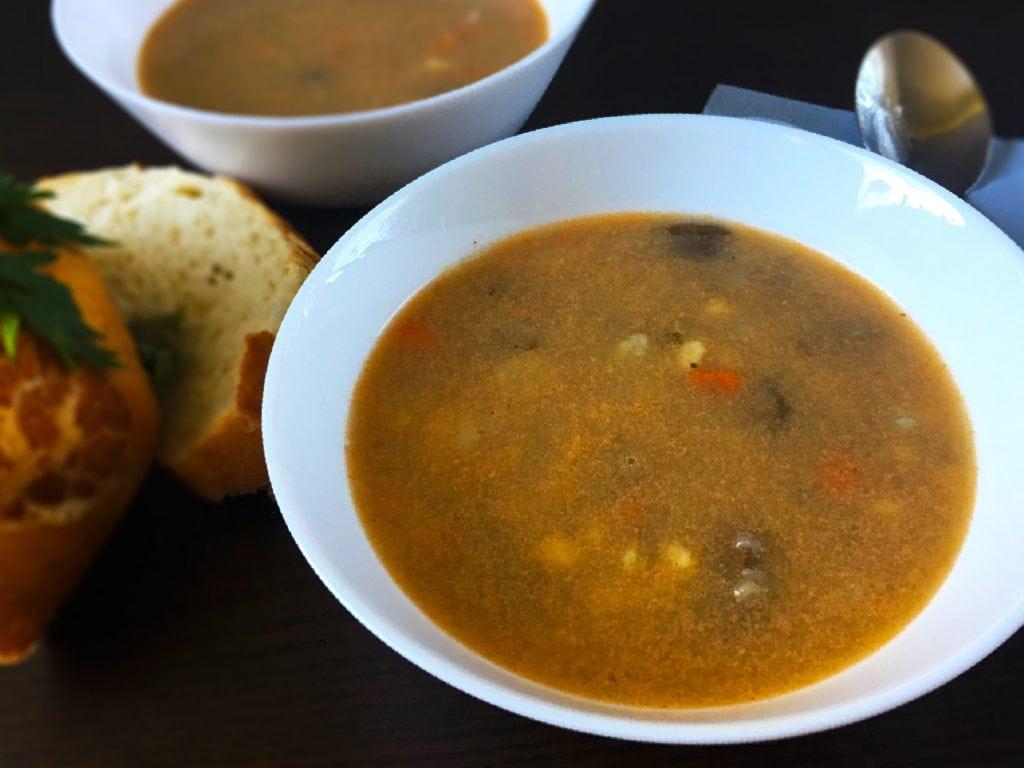 Zupa z zacierką