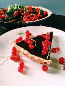 Tarta czekoladowa z porzeczką
