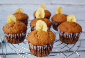 Muffiny bananowe z chia