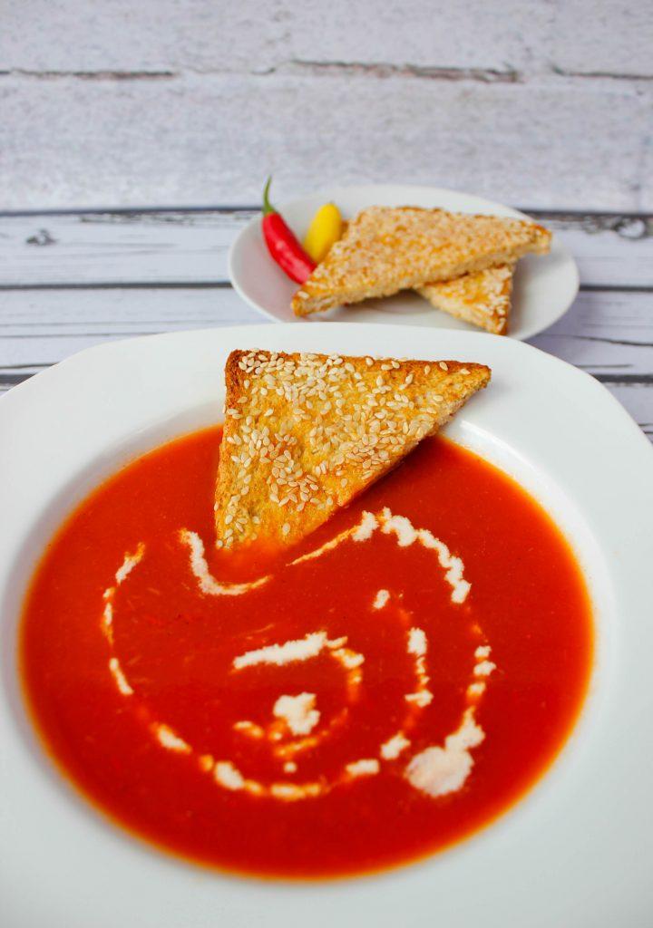 Zupa z papryki