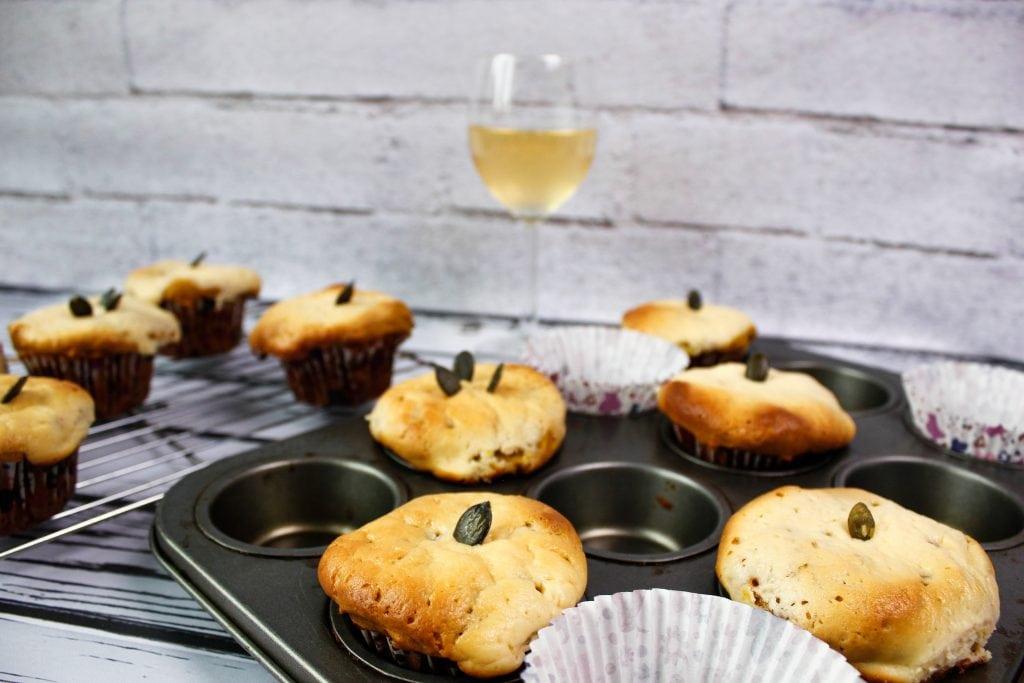 serowe muffiny z dyni