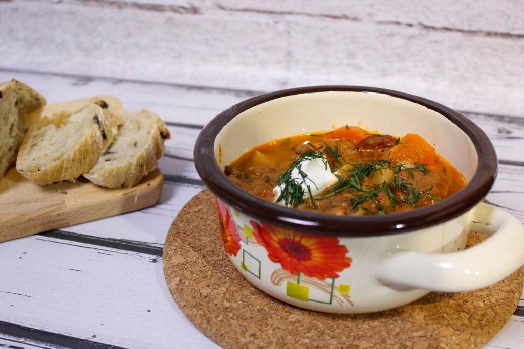 zupa pikantna z soczewicy
