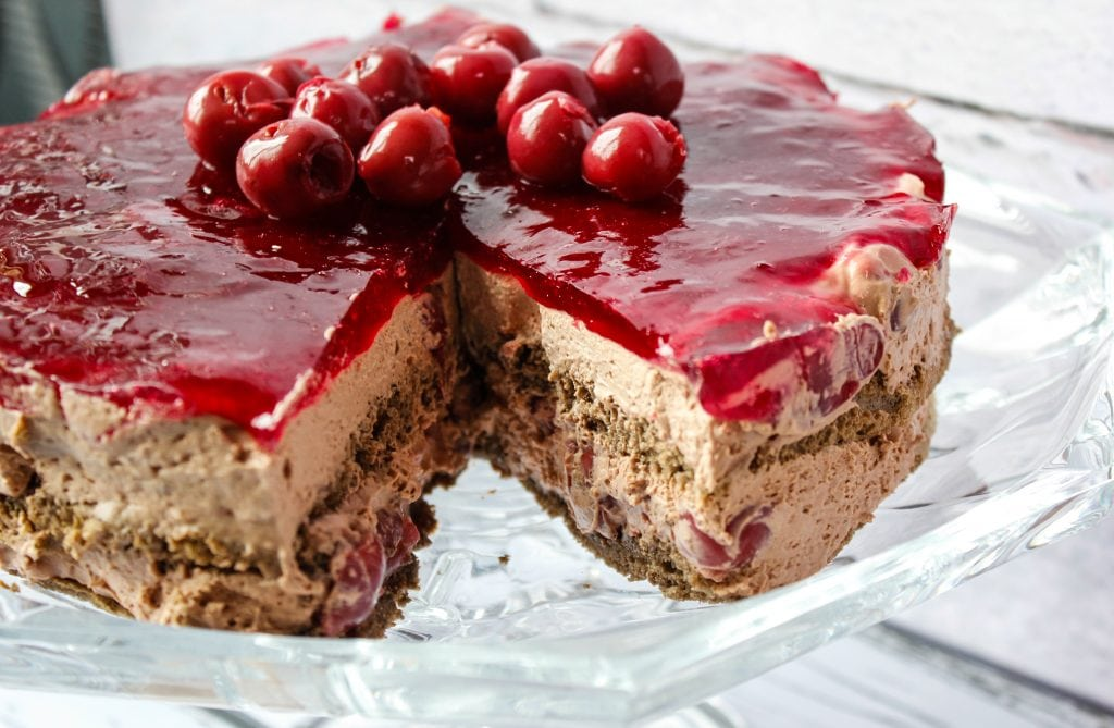 bardzo czekoladowe ciasto