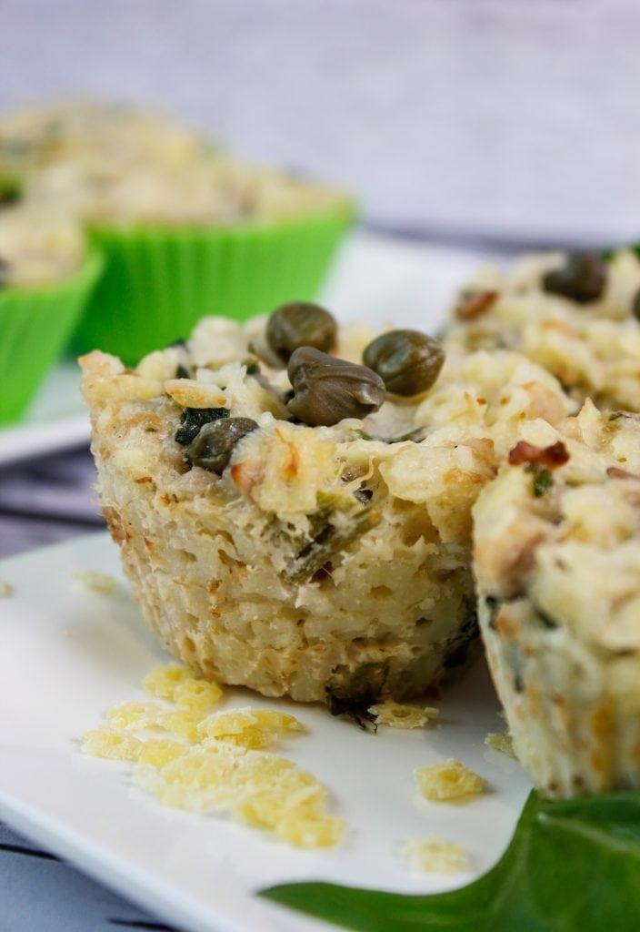 Muffiny makaronowe