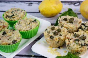 Muffiny z tuńczykiem
