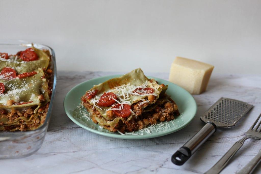 Lasagne z ciecierzycą