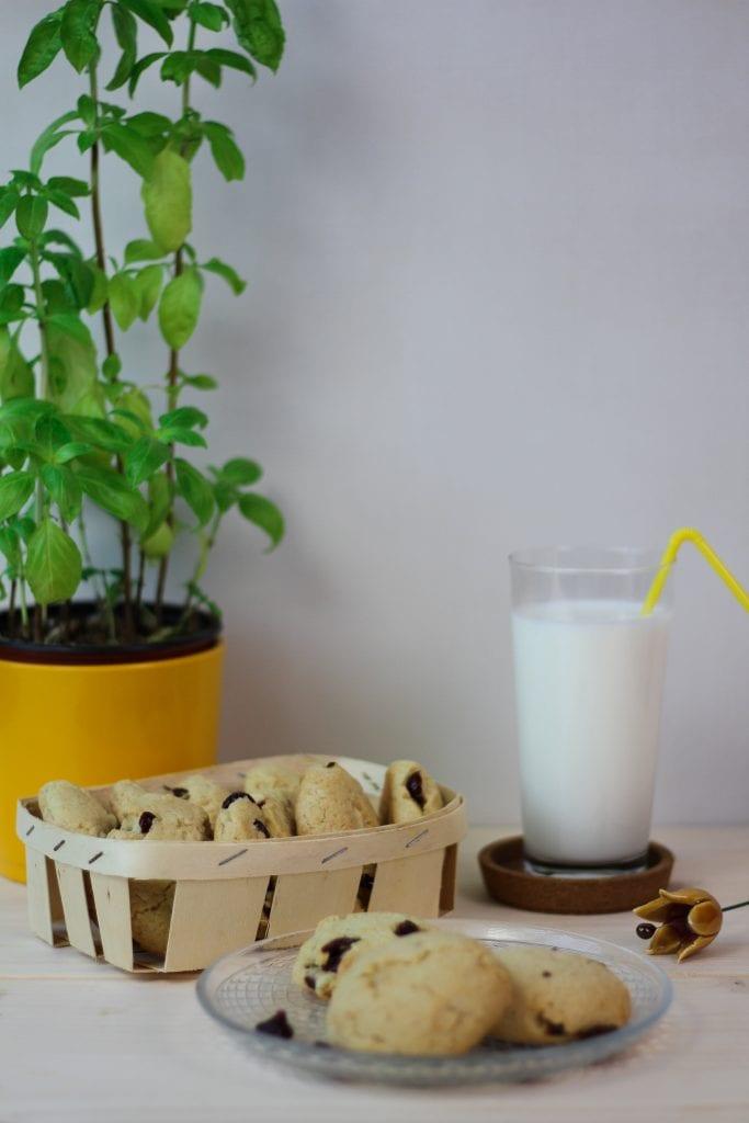 Ciastka z orzechami makadamia