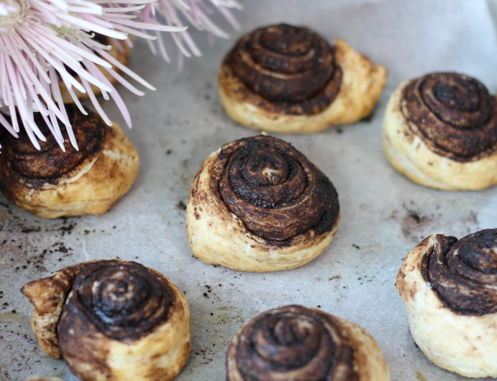Ślimaki z ciasta francuskiego