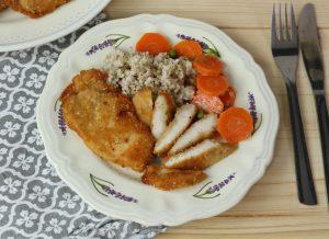 Kurczak w panierce z parmezanu