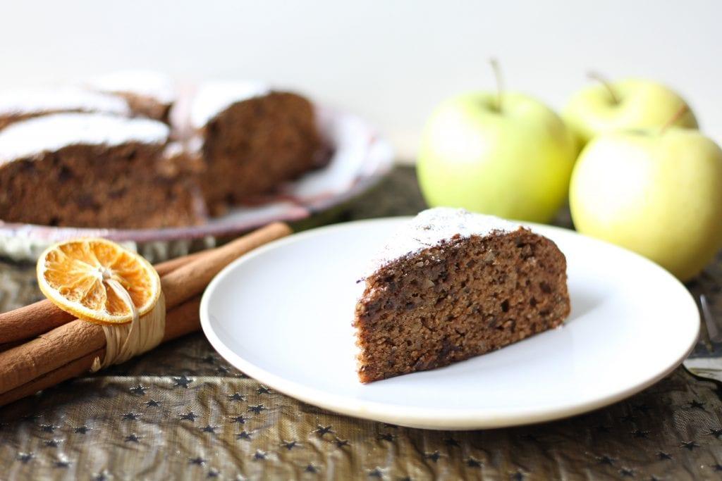 Ciasto jabłkowe z przyprawami korzennymi