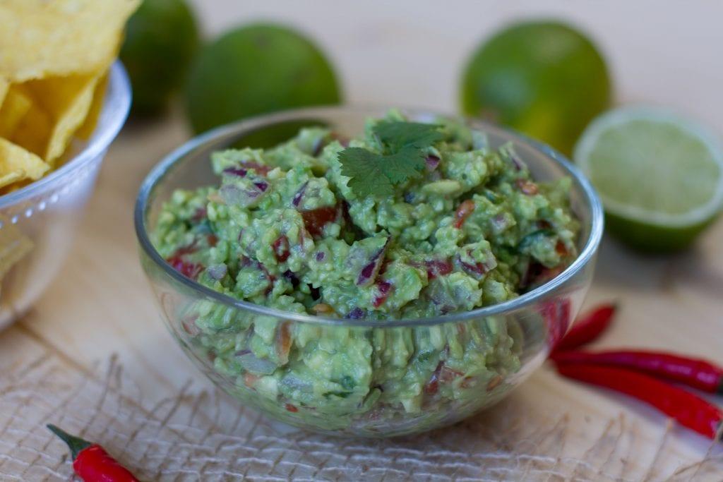 Guacamole z awokado z cebulą