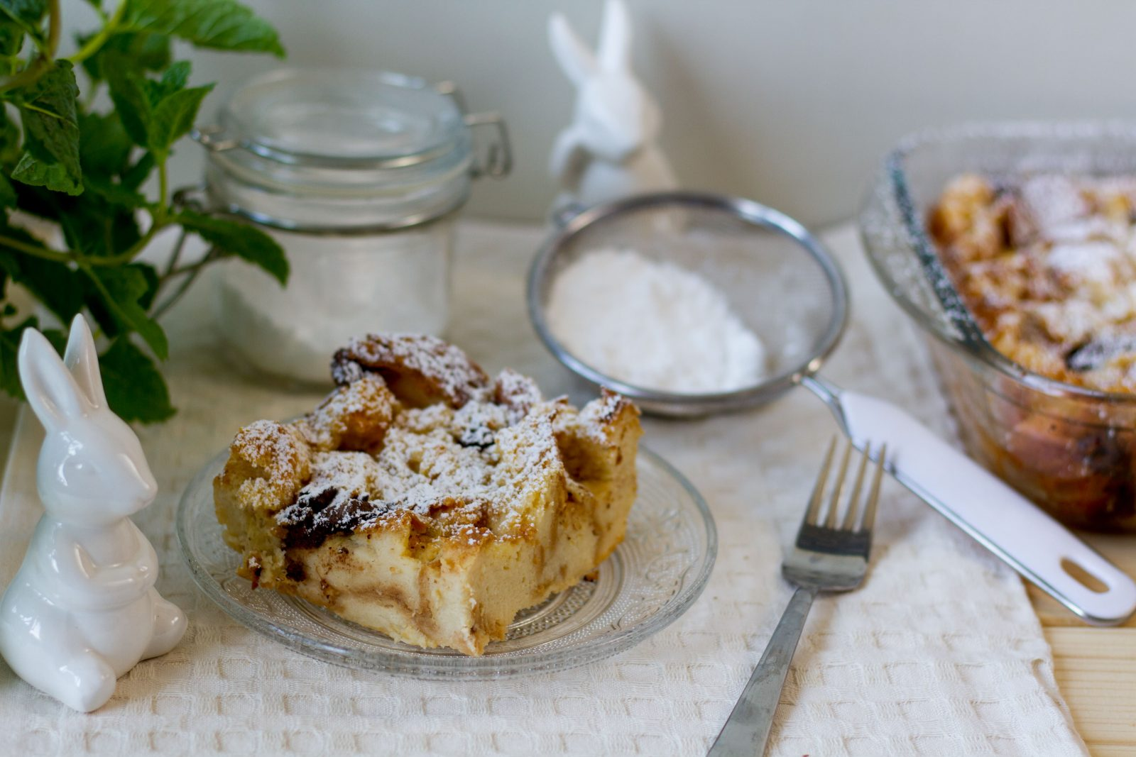 Pudding z czerstwego pieczywa