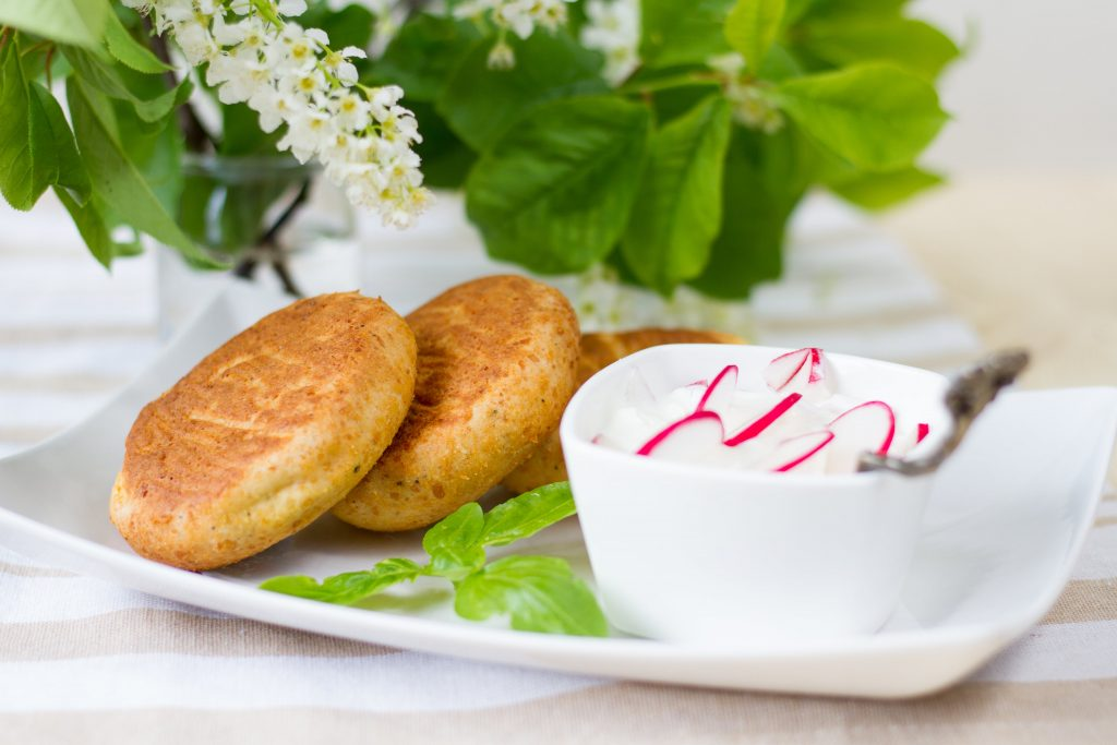 Cakes made from quark cheese