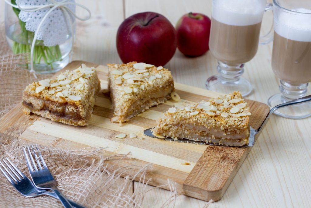 Ciasto jabłkowe sypane