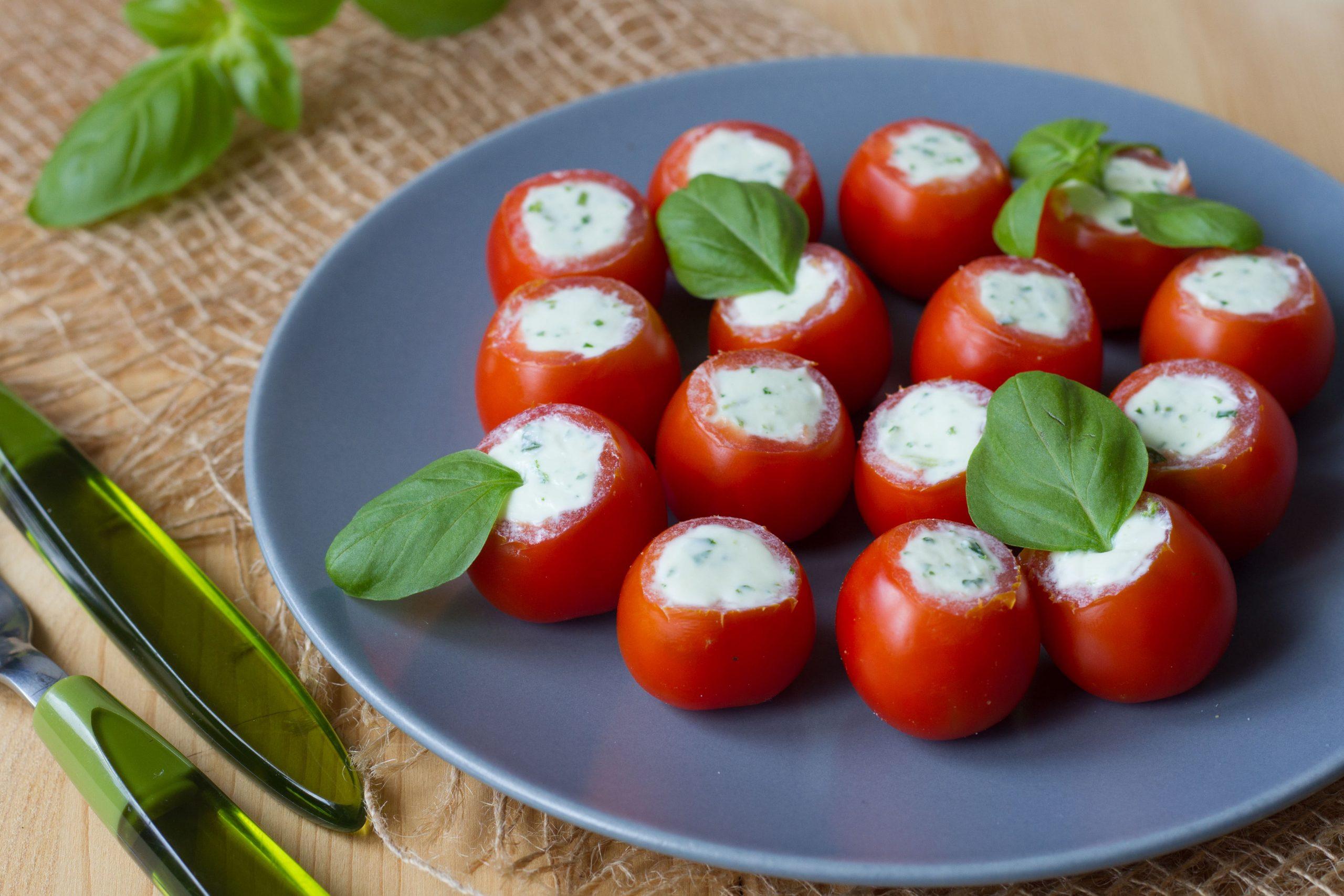 Pomidorki koktajlowe z fetą