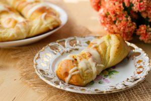 Słodkie bułki z serem