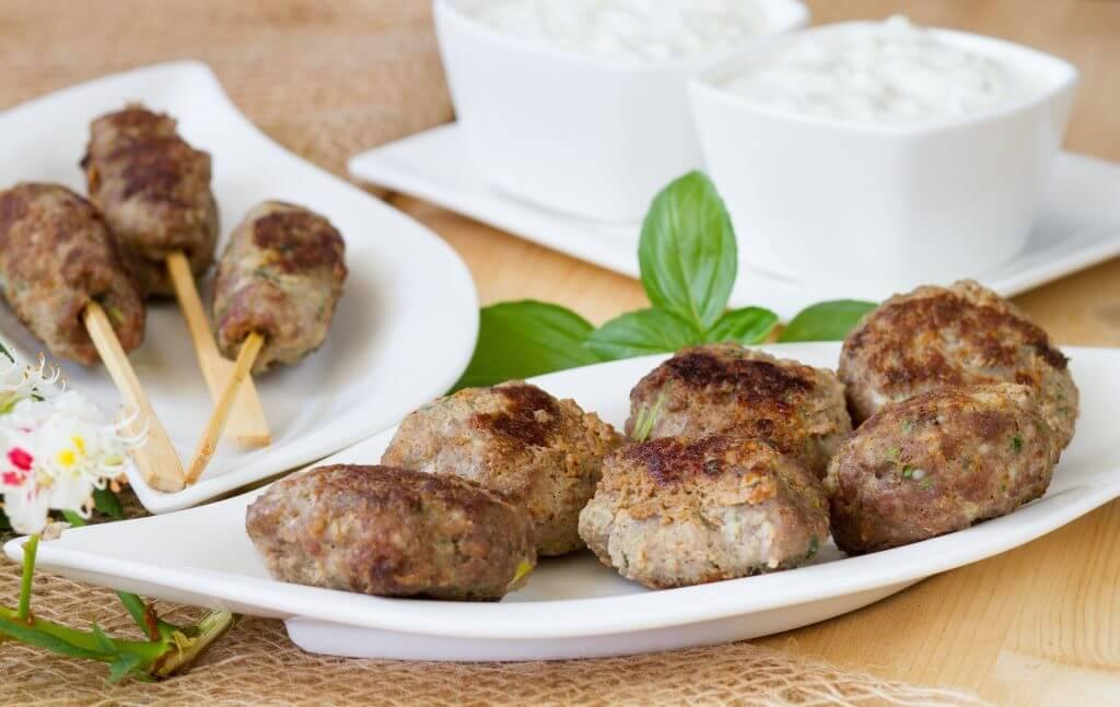 Kofty z wołowiny i wieprzowiny