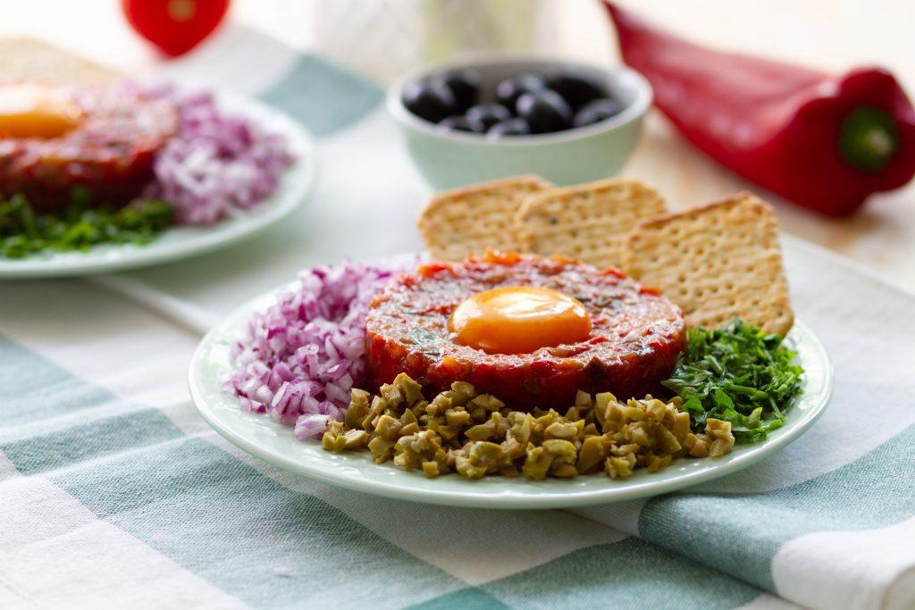 Tatar wegetariański