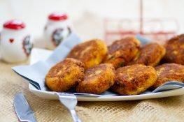 Kotlety z ziemniaków i kapusty