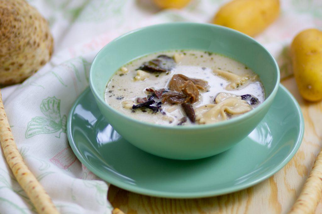 Zupa z grzybami