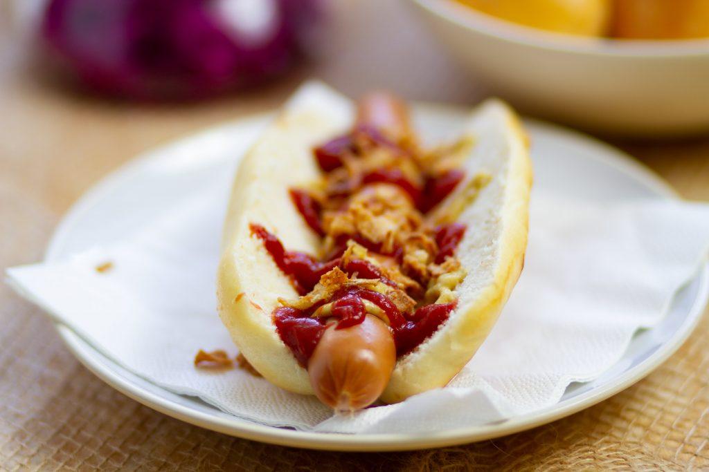 Idealne bułki do hot dogów