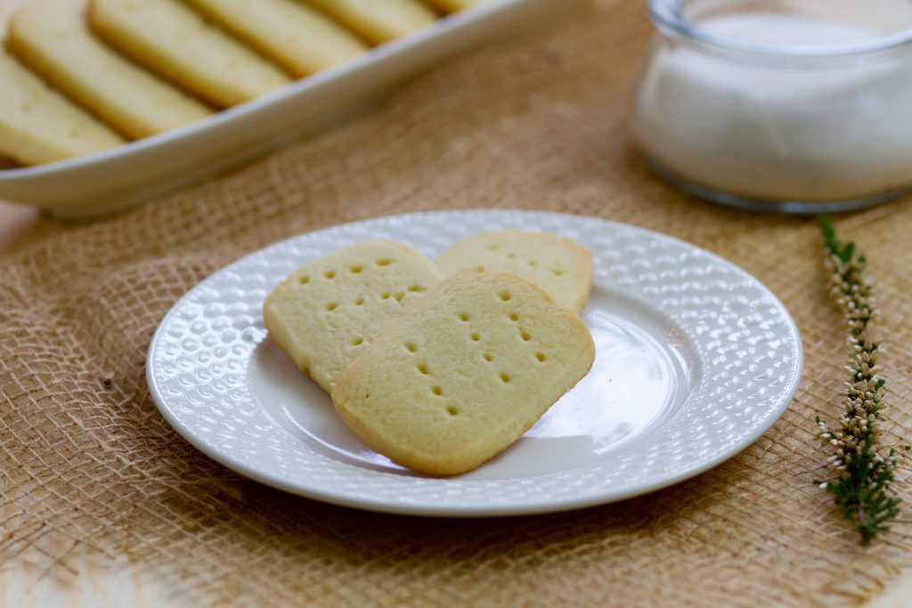 Kruche ciasteczka shortbread